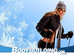 Fonds d'écran Bodybuilding Lunettes Filles Sport