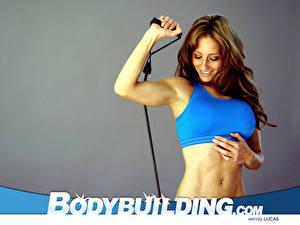 Fonds d'écran Bodybuilding jeunes femmes Sport