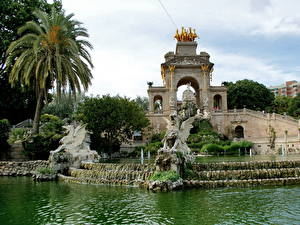 Hintergrundbilder Skulpturen Springbrunnen