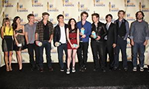 Bakgrundsbilder på skrivbordet The Twilight Saga Kristen Stewart Taylor Lautner