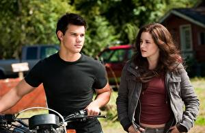 Desktop wallpapers The Twilight Saga Eclipse The Twilight Saga Kristen Stewart Taylor Lautner Movies