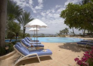 Wallpaper Resorts Swimming bath Sunlounger Cities
