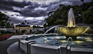 Hintergrundbilder Springbrunnen Städte