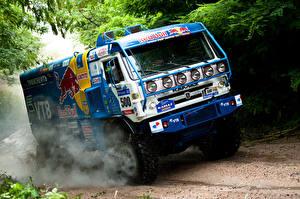 Bilder Lastkraftwagen KAMAZ