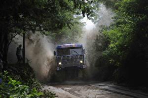 Hintergrundbilder Lastkraftwagen KAMAZ