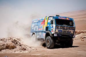 Bilder Lastkraftwagen KAMAZ Autos