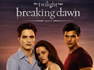 Photo The Twilight Saga Breaking Dawn The Twilight Saga Robert Pattinson Kristen Stewart Taylor Lautner film