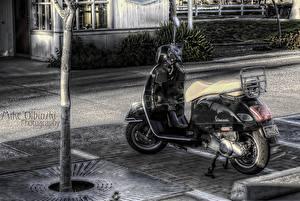 Bilder Motorroller Motorrad