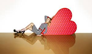Hintergrundbilder Lily Donaldson Kleid Mädchens