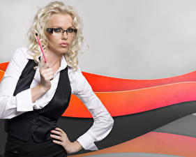 Fotos Asdis Ran Hemd Brille Mädchens