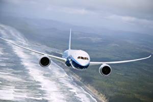 Bilder Flugzeuge Verkehrsflugzeug Boeing Boeing-787