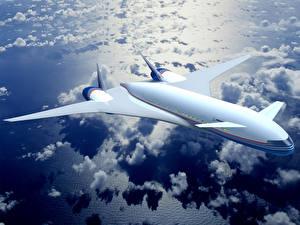 Bilder Flugzeuge Verkehrsflugzeug Boeing