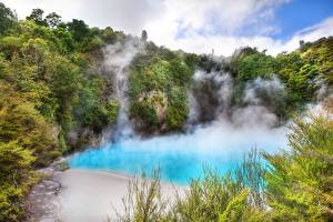 Picture Lake New Zealand Inferno Crater  Nature