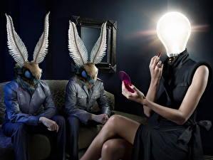 Photo Light bulb Humor