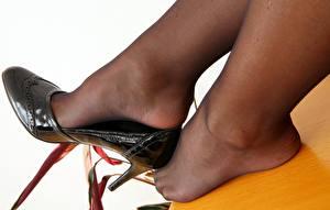 Hintergrundbilder Großansicht High Heels Strumpfhose  Bein Mädchens