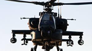 Hintergrundbilder Hubschrauber AH-64 Apache