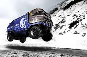 Bilder Lastkraftwagen Flug Autos