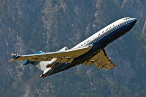 Bilder Flugzeuge Verkehrsflugzeug Boeing Boeing-727 Luftfahrt