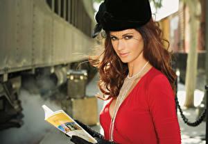Hintergrundbilder Jaime Edmondson Der Hut  Mädchens