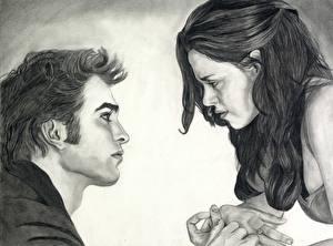Wallpapers The Twilight Saga Breaking Dawn The Twilight Saga Robert Pattinson Kristen Stewart Movies