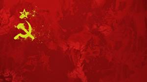 Hintergrundbilder Hammer und Sichel Flagge Sowjetunion