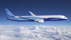 Fotos Flugzeuge Verkehrsflugzeug Boeing Boeing-787