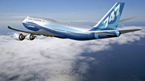 Bilder Flugzeuge Verkehrsflugzeug Boeing Boeing-747
