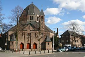 Hintergrundbilder Niederlande Utrecht Kuppel Städte