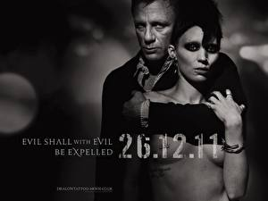 Desktop wallpapers The Girl with the Dragon Tattoo - 2011 film