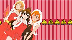 Fonds d'écran Working!! Anime Filles