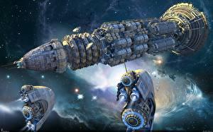 Image Technics Fantasy Ships Starship Fantasy Space