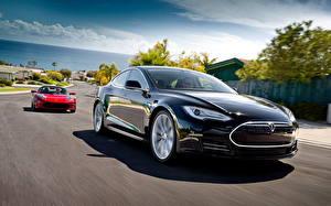 Bilder Tesla Motors Roadster tesla model s and roadster