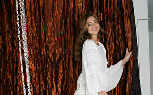 Hintergrundbilder Miranda Kerr Kleid
