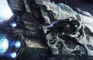 Picture Technics Fantasy Ship Fantasy Space