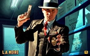 Tapety na pulpit L.A. Noire gra wideo komputerowa