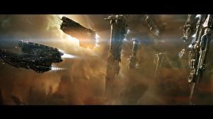 Wallpapers Technics Fantasy Ships Starship Fantasy Space