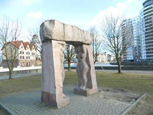 Hintergrundbilder Denkmal Kaliningrad