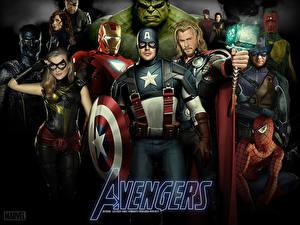 Bilder Marvel's The Avengers 2011 Captain America Held Chris Evans Film
