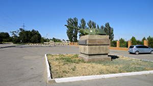 Hintergrundbilder Denkmal Wolgograd