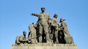 Hintergrundbilder Denkmal Wolgograd  Städte
