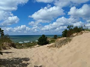 Bilder See Vereinigte Staaten Michigan Natur