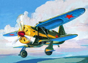 Fotos Flugzeuge Gezeichnet Antik  Luftfahrt
