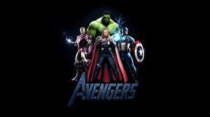 Fotos Marvel's The Avengers 2012 Thor Held Hulk Held Film