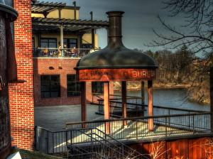 Hintergrundbilder USA Michigan Frankenmuth MI HDR