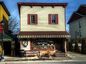 Fotos USA Haus Michigan Frankenmuth MI HDR Städte