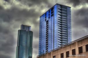 Hintergrundbilder Vereinigte Staaten Texas Austin TX Städte