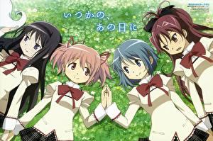 Hintergrundbilder Mahou Shoujo Madoka Magica Anime
