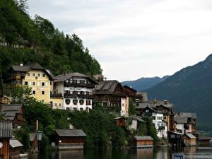 Bilder Österreich Hallstatt Wolke Städte