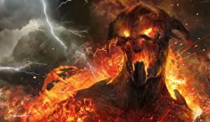 Wallpaper Wrath of the Titans