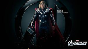 Hintergrundbilder Marvel's The Avengers 2011 Chris Hemsworth Thor Held